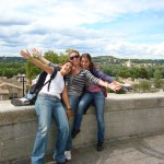 students enjoying a cultural outing in lyon