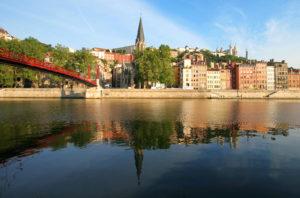 Lyon Saône riverside