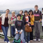 international students enjoying a cultural outing