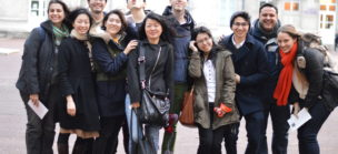 International group of Inflexyon students